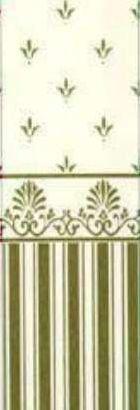 Grosvenor Gold Cream Wallpaper for Dolls House