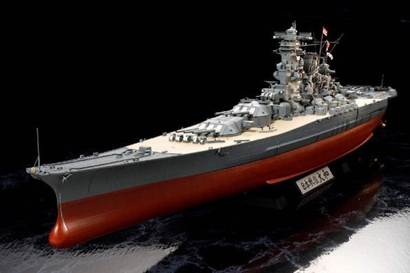 Tamiya Japanese Battleship Yamato 1:350 Scale Model Ship Kit