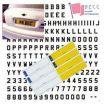 License Plate and Lettering Sets - 10mm Vinyl Number Plate Set
