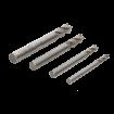 Unimat 4pc Hss Milling Tool Set 162190