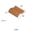 Aedes Ars Red Roof Tile 28 x 26 x 9 (Pack of 25 Tiles)