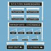 Peco Platform Signage