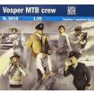 Italeri Seven Vosper Crew Figures and Accessories Plastic Model Kits