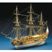 Mantua Models Royal Caroline Period Ship Kit - Optional Pre-made & Stitched Sail Set