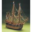 Mantua Models Dutch Whaler Model Ship Kit - Optional Pre-stitched Sail Set