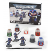 Warhammer Space Marines: Assault Intercessors + Paints Set