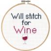 Cross Stitch - Stitch for Wine