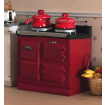 Red Aga Stove 1:12 Scale for Dolls House