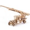 UGears Fire Truck Wooden Kit