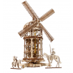 UGears Tower Windmill Wooden Kit