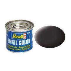 Revell Enamel Solid Matt Paint - Tar Black