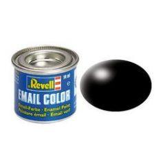 Revell Solid Silk Matt Enamel Paint - Black