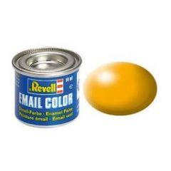 Revell Solid Silk Matt Enamel Paint - Lufthansa Yellow