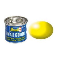 Revell Solid Silk Matt Enamel Paint - Luminous Yellow