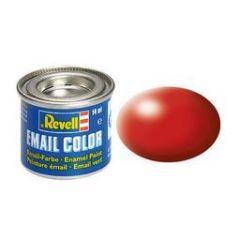 Revell Solid Silk Matt Enamel Paint - Fiery Red