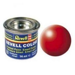 Revell Solid Silk Matt Enamel Paint - Luminous Red