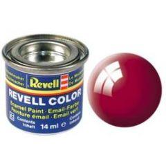 Revell Solid Enamel Gloss Paint - Ferrari Red