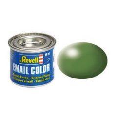 Revell Solid Silk Matt Enamel Paint - Fern Green