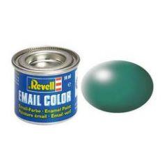 Revell Solid Silk Matt Enamel Paint - Patina Green