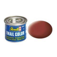 Revell Enamel Solid Matt Paint - Reddish Brown