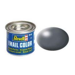 Revell Solid Silk Matt Enamel Paint - Dark Grey