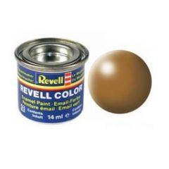 Revell Solid Silk Matt Enamel Paint - Wood Brown