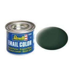 Revell Enamel Solid Matt Paint - Dark Green RAF