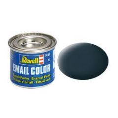 Revell Enamel Solid Matt Paint - Granite Grey