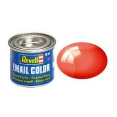 Revell Clear Enamel Paint - Clear Red