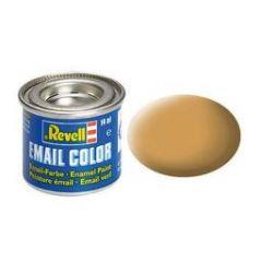 Revell Enamel Solid Matt Paint - Ochre Brown