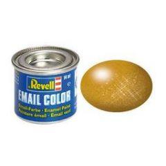 Revell Enamel Metallic Paint - Brass