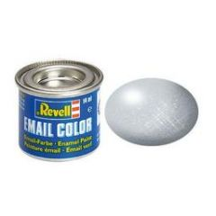 Revell Enamel Metallic Paint - Aluminium