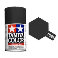 Tamiya Colour Spray Paint (100ml) - Semi- Gloss Black