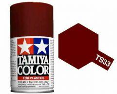 Tamiya Colour Spray Paint (100ml) - Dull Red