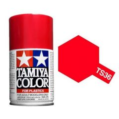 Tamiya Colour Spray Paint (100ml) - Fluorescent Red
