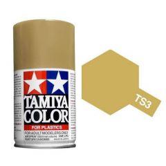 Tamiya Colour Spray Paint (100ml) - Dark Yellow