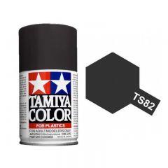 Tamiya Colour Spray Paint (100ml) - Rubber Black