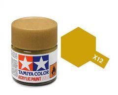 Tamiya Acrylic Gloss Paint (10ml) - Gold Leaf