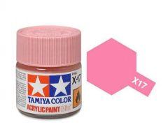 Tamiya Acrylic Gloss Paint (10ml) - Pink