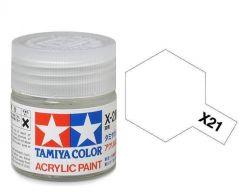 Tamiya Acrylic Gloss Paint (10ml) - Flat Base