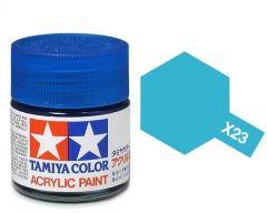 Tamiya Acrylic Gloss Paint (10ml) - Clear Blue