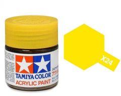 Tamiya Acrylic Gloss Paint (10ml) - Clear Yellow