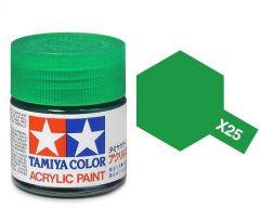 Tamiya Acrylic Gloss Paint (10ml) - Clear Green