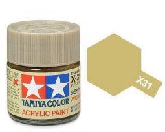 Tamiya Acrylic Gloss Paint (10ml) - Titanium Gold