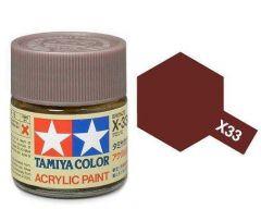 Tamiya Acrylic Gloss Paint (10ml) - Bronze