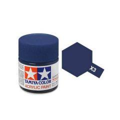 Tamiya Acrylic Gloss Paint (10ml) - Royal Blue