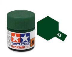 Tamiya Acrylic Gloss Paint (10ml) - Green