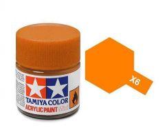 Tamiya Acrylic Gloss Paint (10ml) - Orange