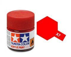 Tamiya Acrylic Gloss Paint (10ml) - Red