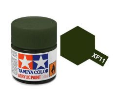 Tamiya Acrylic Flat Paint (10ml) - J.n. Green